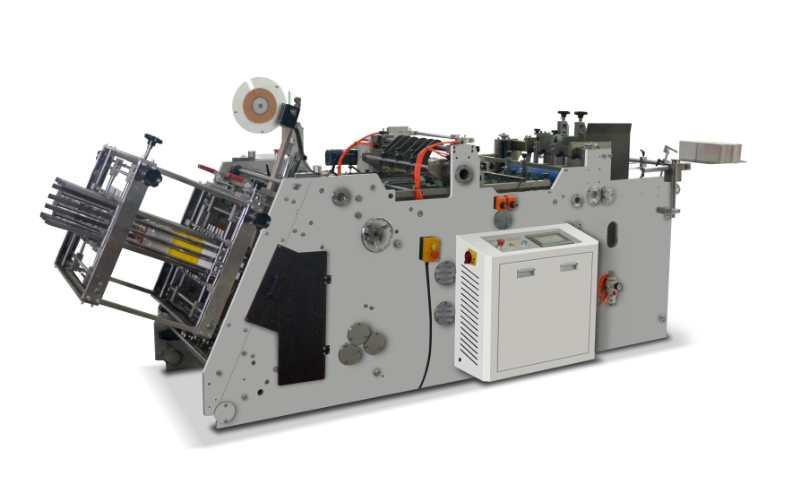 Máquina Coladeira de Papel