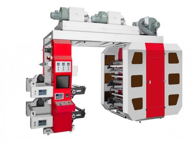 Impressora Flexográfica 6 cores