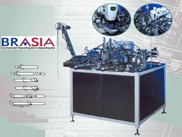 Máquina para Alça de Sutiã - Automática