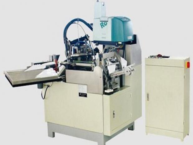 Máquina para Copos de Papel em Cone  Dobrador de Boca  Semi-Automatica
