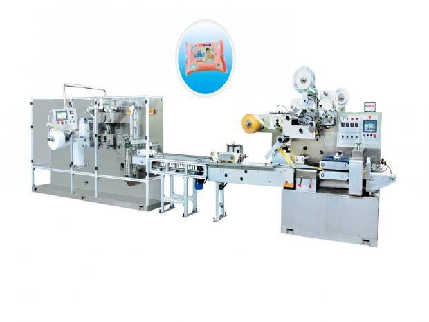 Máquina para Fazer e Embalar Lenços Umedecidos - Pequenas Embalagens