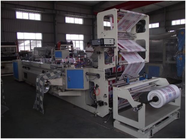 Máquina para Sacolas de Plástico com 4 Modelos de Alças