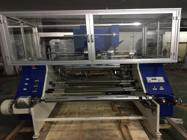 Rebobinadeira Automática para Papel Alumínio