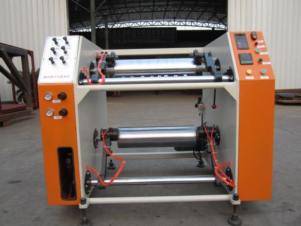 Rebobinadeira para Stretch PE e PVC  Semi Automática