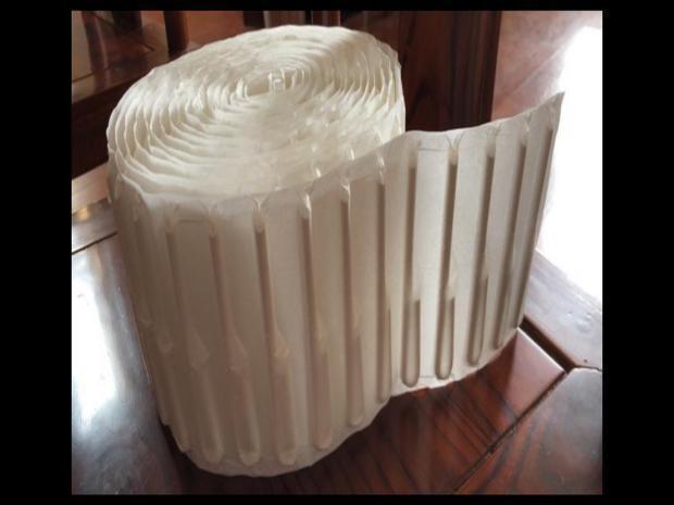 Embaladora de Canudinhos Corrugados  em Kit Destacavel