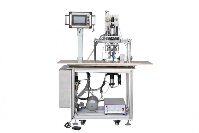 Máquina para Soldar Alça da Máscara (Elástico) - Semi-Automática