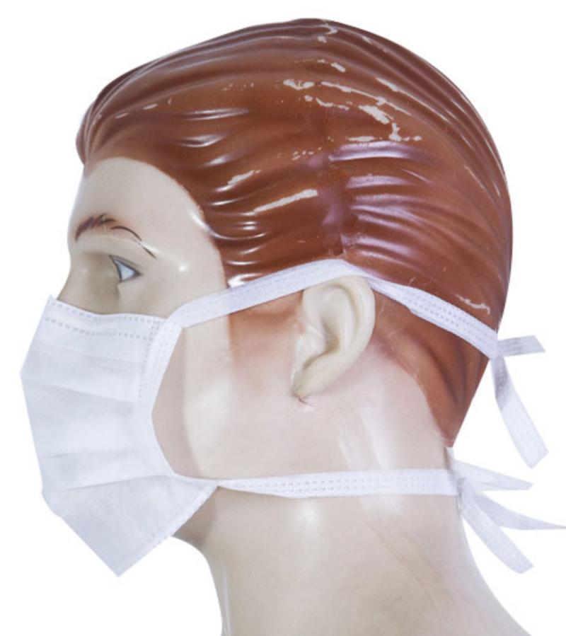 Máquina para Aplicar Tiras nas Máscaras de Tecidos não Tecidos (TNT)