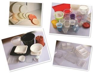 Termoformadora de Copos, Pratos, Vasilhas e Tampas Plásticas