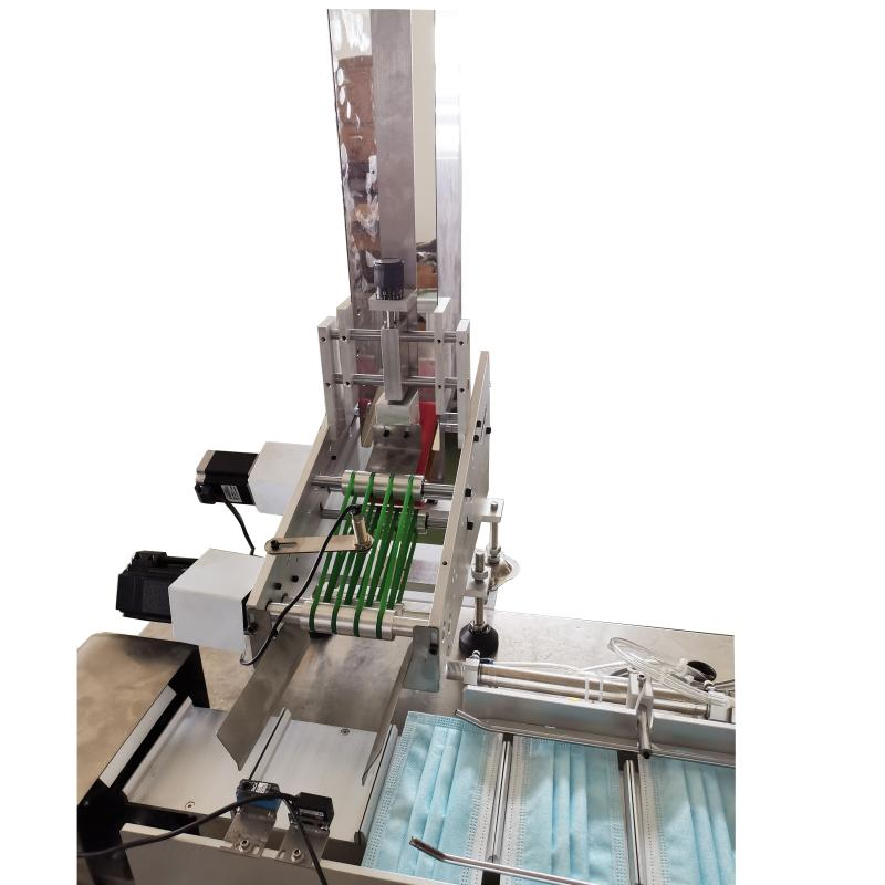 Alimentador da Máquina para Soldar Alça da Máscara Cirúrgica (Elástico) – Automática