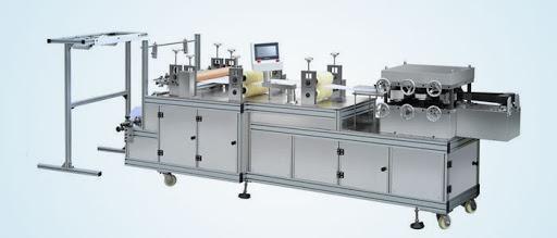 Máquina para Touca - TNT e Plástico - Aço Inox