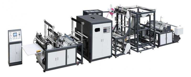 Máquina para Sacos e Sacolas de TNT com Alça Fita em Linha 700