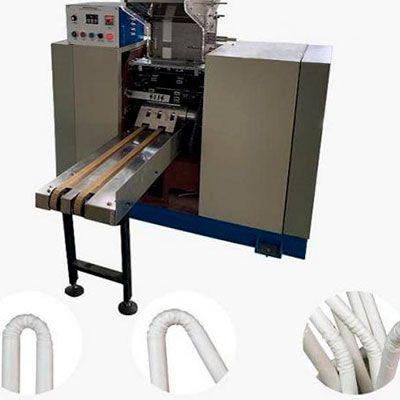 Maquina canudinho papel