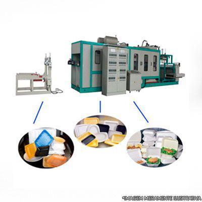 Maquina de fazer embalagens de isopor