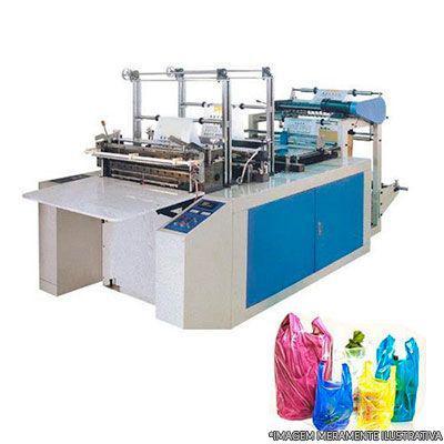 Maquina de fazer sacolas plasticas e sacos de lixo