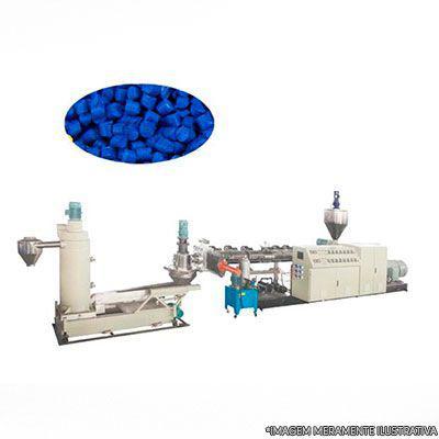 Venda de maquinas para reciclagem de plastico