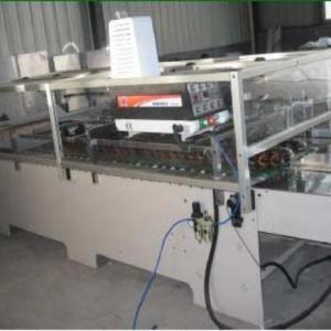 Máquina Coladeira de Fundo para Tubos de Sacolas de Papel
