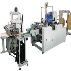 Máquina para Alça Torcida em Papel com Colagem Automática em Sacos SOS