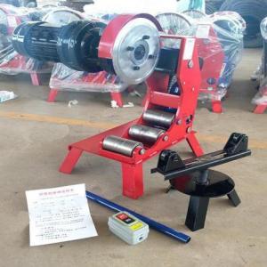 Máquina para Ranhurar Tubos de Aço