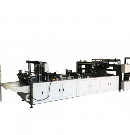 Máquina para Sacos de TNT com Visor e Cordão