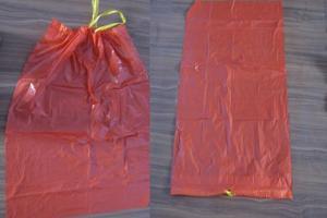 Corte e Solda para Sacos de Lixo Hospitalar Hamper com Alça - Folha a Folha